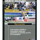 JERAMETRIUS BUTLER 2001 NFL Showdown Action Card #S49 St. Louis Rams KANSAS STATE