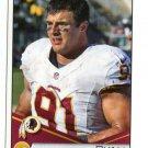 RYAN KERRIGAN 2014 Panini Stickers #282 Redskins PURDUE Boilermakers