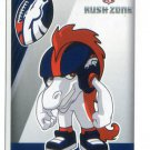 RUSH ZONE 2014 Panini Stickers #174 Denver Broncos