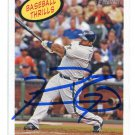 PW) PRINCE FIELDER 2008 Topps Heritage IP AUTO #368 Brewers