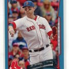 WILL MIDDLEBROOKS 2014 Topps Future Stars BLUE BORDER SP #136 ROOKIE Boston Red Sox