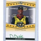 DEOUNDREI DAVIS 2013 Leaf Army All-American TOUR AUTO Texas Longhorns 4-Star OLB #d 23/25