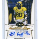 DERRICK GRIFFIN 2013 Leaf Army All-American TOUCHDOWN KINGS Miami Canes WR #d/25