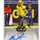 BRANDON SIMMONS 2014 Leaf Army All-American AUTO #BA-BS2 Stanford Cardinal DB #d/50