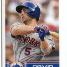 DAVID WRIGHT 2014 Panini Stickers #185 New York NY Mets