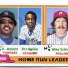 MIKE SCHMIDT / REGGIE JACKSON 1982 Topps LL #2 Philadelphia Phillies YANKEES