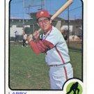 LARRY BOWA 1973 Topps #119 Philadelphia Phillies