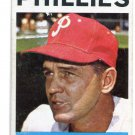 Manager Coach GENE MAUCH 1964 Topps #157 Philadelphia Phillies