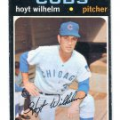 HOYT WILHELM 1971 Topps #248 Chicago Cubs