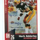 HERB ADDERLEY 1997 Big 33 Ohio OH High School Honorary Chairman GREEN BAY Packers MICHIGAN STATE