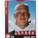 JASON OTT 1997 Big 33 Ohio OH High School card OHIO STATE Buckeyes