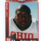RODNEY BAILEY 1997 Big 33 Ohio OH High School card OHIO STATE Buckeyes