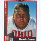 HEATH QUEEN 1997 Big 33 Ohio OH High School card OHIO STATE Buckeyes