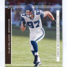 JOE JUREVICIUS 2006 Playoff Absolute SPECTRUM SP #132 PENN STATE Browns SEAHAWKS