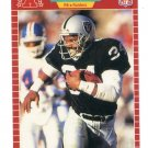 BO JACKSON 1989 Pro Set #185 Raiders AUBURN Tigers HEISMAN