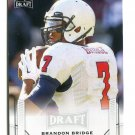 BRANDON BRIDGE 2015 Leaf Draft #9 ROOKIE South Alabama QB