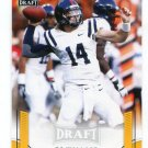 BO WALLACE 2015 Leaf Draft GOLD #8 ROOKIE Ole Miss Rebels QB