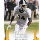 TONY LIPPETT 2015 Leaf Draft GOLD #56 ROOKIE Michigan State Spartans DOLPHINS WR