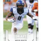 KEVIN WHITE 2015 Leaf Draft #35 ROOKIE West Virginia Mountaineers BEARS WR