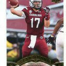 DYLAN THOMPSON 2015 Upper Deck UD Star #58 ROOKIE South Carolina Gamecocks QB