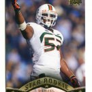 DENZEL PERRYMAN 2015 Upper Deck UD Star #123 ROOKIE Miami Hurricanes CANES Chargers LB
