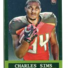 CHARLES SIMS 2014 Topps Chrome 1963 Mini Retro INSERT SP ROOKIE West Virginia BUCCANEERS
