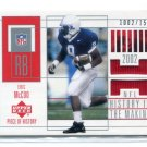 ERIC McCOO 2002 UD Pieces of History JERSEY #153 ROOKIE PENN STATE Eagles #d/1500 BV$12