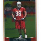 GABE WATSON 2008 Topps Chrome Special Edition SE #203 ROOKIE Arizona Cardinals MICHIGAN Wolverines