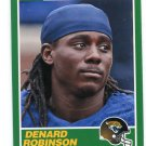DENARD ROBINSON 2013 Score 1989 Retro INSERT #358 ROOKIE Jaguars MICHIGAN Wolverines QB / RB