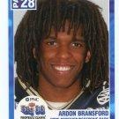 ARDON BRANSFORD 2003 Big 33 Pennsylvania High School card CENTRAL DAUPHIN High School HS