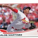 CARLOS MARTINEZ 2013 Topps Update #US175 ROOKIE Cardinals