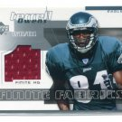 TERRELL OWENS 2004 Upper Deck UD Finite Fabrics JERSEY Philadelphia Eagles