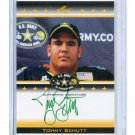 TOMMY SCHUTT 2012 Leaf Army All-American TOUR AUTO #TA-TS1 Ohio State Buckeyes #d/10