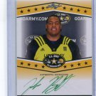 JOSH BOUTTE 2013 Leaf Army All-American TOUR AUTO LSU Tigers 4-star OG #d/25