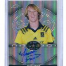 TRENT IRWIN 2015 Leaf Army All-American AUTO PRISMATIC Stanford Cardinal 4* WR