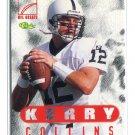 KERRY COLLINS 1996 Classic NFL Greats #77 Penn State CAROLINA Panthers QB