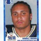 WINDELL BROWN 2003 Big 33 Pennsylvania PA High School card PITT PANTHERS