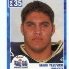 MARK YEZOVICH 2003 Big 33 Pennsylvania PA High School card PITT PANTHERS