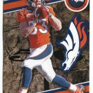 WES WELKER 2014 Fathead Tradeables #16 Broncos TEXAS TECH
