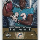 RONNIE BROWN 2005 Upper Deck UD Portraits #113 ROOKIE Dolphins AUBURN Tigers #d/75