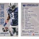 2015 Penn State Nittany Lions Football Pocket Schedule MINI