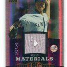 RANDY JOHNSON 2006 Upper Deck UD Epic Materials JERSEY New York NY Yankees #d/145