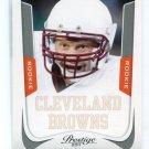 OWEN MARECIC 2011 Panini Prestige #272 ROOKIE Browns STANFORD Cardinal