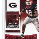 JUSTIN HOUSTON 2016 Panini Contenders #58 Georgia Bulldogs KC CHIEFS