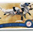 MICKEY MANTLE 2011 Topps SP #7 New York NY Yankees HOF