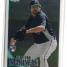KANEKOA TEXEIRA 2010 Topps Chrome #208 ROOKIE Mariners - Maui, HAWAII