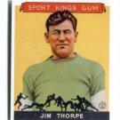JIM THORPE Sport Kings Gum Reprint Press Pass Promo