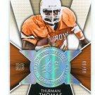 THURMAN THOMAS 2014 Upper Deck SPx Finite Legends IRADIANCE NSERT Oklahoma State Cowboys BILLS #d/99