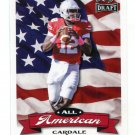 CARDALE JONES 2016 Leaf Draft All-American INSERT ROOKIE Ohio State Buckeyes BILLS QB