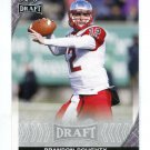 BRANDON DOUGHTY 2016 Leaf Draft #7 ROOKIE Western Kentucky DOLPHINS QB